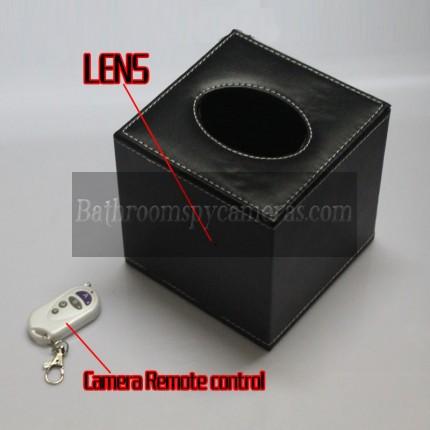 Buy HD Tissue Box Spy Camera For Office Hidden HD Pinhole Spy Camera 16GB 720P at Toilet Hidden Camera,Bathroom Spy Camera professional shop