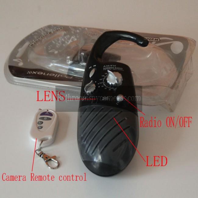 Shower clock hidden camera voyeur 6