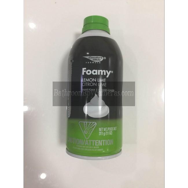 Shaving Foam Hidden Spy Camera in toilet 16G Full HD 1080P DVR with motion sensor